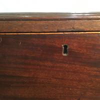 Antique Early Victorian Three Drawer Chest Stained Pine (4 of 12)