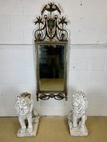 Beautiful Large Green & Gilt Wall Mirror (2 of 9)