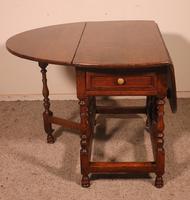 Gateleg Table in Oak -18th Century (3 of 11)