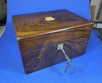 Victorian Rosewood Jewellery Box (10 of 17)