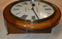 R F Davis Plymouth Fusee Dial Wall Clock (5 of 5)