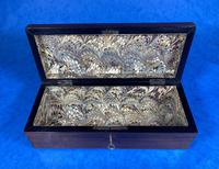 Victorian Brass Mounted  Rosewood  Glove Box (14 of 14)