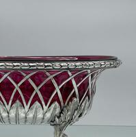 18th Century Antique George III Sterling Silver Dish London 1795 William Pitts & Joseph Preedy (6 of 11)