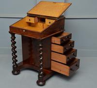 William IV Flame Mahogany Davenport Desk (15 of 18)