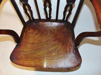 Georgian Yew-wood Windsor Elbow Chair (3 of 7)