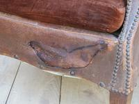 Pair of Antique French Leather Club Chairs (7 of 14)
