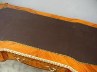Large French Walnut Bureau Plat / Writing Table (12 of 16)