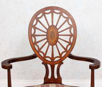 Antique Edwardian Armchair Inlaid Mahogany (3 of 10)