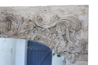 19th Century Large Quality Painted Chateau Overmantle / Wall Mirror (3 of 8)