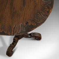 Pair of Antique Side Tables, Asian, Elm, Occasional, Wine Stand, Victorian, 1900 (8 of 11)