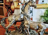 Mare & Foal Brass Fairestware - Heavy (2 of 5)