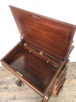 Late Victorian Inlaid Rosewood Davenport Desk (11 of 17)