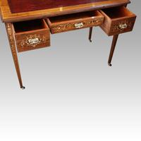 Edwardian Inlaid Rosewood Desk (6 of 11)