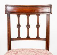 Pretty Pair of Mahogany Regency Side Chairs (2 of 6)