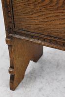 Vintage Oak Newspaper Stand / Canterbury (10 of 13)