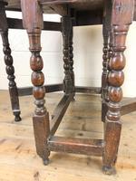 18th Century Antique Oak Gateleg Table (3 of 10)
