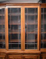 19th Century Victorian Mahogany Breakfront Bookcase (5 of 11)