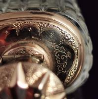 Antique 14ct Rose Gold Scent Bottle, 19th Century, Dutch, Cased (8 of 15)