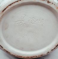 Chinese Jingdezhen Pterodactyl Samurai Vase (5 of 8)
