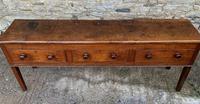Large Antique Elm Dresser Base (18 of 21)
