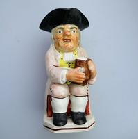 Good Staffordshire Pearlware Toby Jug Early 19th Century (8 of 12)