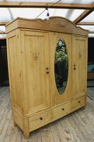 Huge! Old Pine Triple 'Knock Down' Combination Wardrobe - We Deliver! (3 of 21)