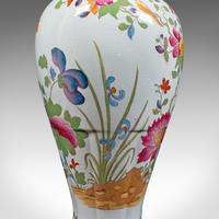 Antique Baluster Posy Vase, English, Ceramic, Decorative, Flower Urn c.1920 (9 of 12)