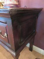 George II Period Oak Three Drawer Dresser (5 of 14)