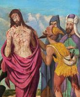Pair of 19th Century Religious Old Master Oil Paintings - Set of 14 Available (8 of 32)