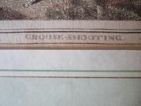 "Late 18th Century Etching ""Grouse Shooting"" by Samuel Howitt (3 of 6)"