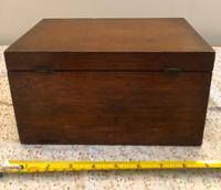 Small Oak Box - Possibly A Tea Caddy (6 of 8)