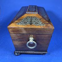 Regency Rosewood Twin Canister Tea Caddy (16 of 17)