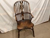 High Back  Elm / Ash Windsor Carver Chair (3 of 4)