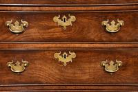 Attractive George III Mahogany Chest of Drawers (9 of 9)