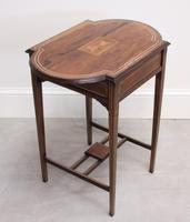 Edwardian Rosewood Occasional Table (5 of 7)