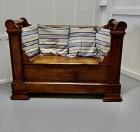 French Walnut and Cherry Empire Style Window Seat (2 of 8)