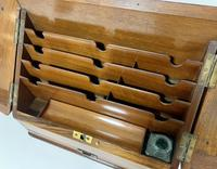 Antique Victorian Burr Walnut Desktop Stationery Cabinet (4 of 11)