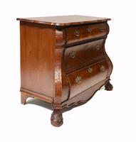 Dutch Bombe Commode Antique Chest of Drawers 1920 (5 of 13)