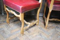 Set of 8 French Leather Dining Chairs (7 of 7)
