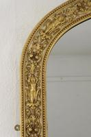 Painted and Parcel-Gilt Arch Top Overmantle Mirror by Nosotti (4 of 15)