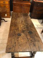 Oak Refectory Table from 1700's (3 of 6)