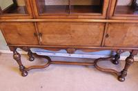 Quality Antique Walnut Display Cabinet (11 of 19)