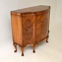 Antique Burr Walnut Cabinet / Sideboard (11 of 11)