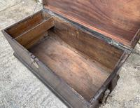 Antique Camphor Sea Chest Trunk (10 of 22)