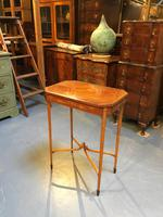 Edwardian Occasional Lamp Table (8 of 8)