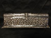 Edwardian Irish Silver Plated Trinket or Jewellery Box (7 of 12)
