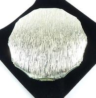 Hallmarked Silver Face Powder Compact Mirror 1972 (3 of 8)
