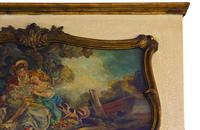 Quality Gilt Full Height Wall Trumeau Mirror c.1900 (5 of 8)