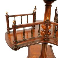 Victorian Satinwood Book Stand (5 of 8)