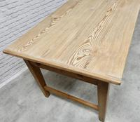 Large Farmhouse Pine Kitchen Table (6 of 9)